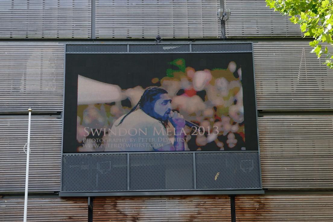 big screen images
